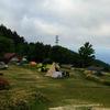 キャンプツーリング 二日目 ( 陣馬型山キャンプ場~分杭峠 )
