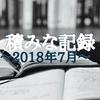 読書家と暮らすようになったら、ますます本が増えた【2018年7月】