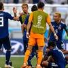 ワールドカップ 隣のお嬢さんベルギー戦