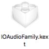 El CapitanがなくてもDirect Modeに必要なIOAudioFamily.kextを取得する方法
