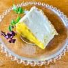 イタドリジャムのレアチーズケーキを作りました
