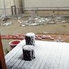 雪化粧の我が家