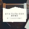 はてなブログ9ヶ月目の運営報告!12000PV突破!