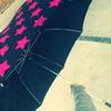 子供の傘や運動靴に防水スプレーをシュッとして撥水効果をキープ