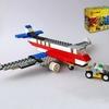 レゴ:飛行機の作り方 LEGOクラシック10715だけで作ったよ(オリジナル)トーイングカー付き♪