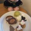 Café 小倉山さんでクリスマスデザートプレート〜♪横浜美術館♪