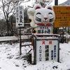 1月 長野県 小谷村 湯原温泉猫鼻の湯