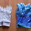 雪山の手袋 防寒テムレスのインナーグローブはジオライン