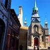秋のモントリオール旧市街と旧港(10月)