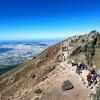 イタリアひとり旅㉒【前半:南イタリア編】鬼のパンツを履いて見たベスビオ山頂からの絶景