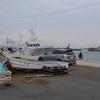 台風の近く中、久慈漁港で海釣り! 茨城県日立市久慈町