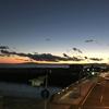 大磯漁港で折り返しペース走30k