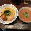 麺や庄ので濃厚豚骨魚介つけ麺(市ヶ谷)