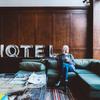 例のビジネスホテルに宿泊してきました。