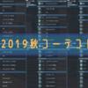 【PSO2】2019秋コーデコレクション