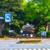 ツツジの咲く風景『北桔橋門~乾門~旧国立工芸館』