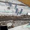 新築アパートの工事