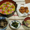 2017/03/03の夕食【ひな祭り】