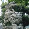 松尾神社の手前