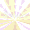 三角形を使った放射状の背景2c