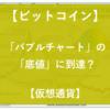 【ビットコイン】バブルチャートの底値に到達?【仮想通貨】