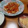 酢鶏→グレの煮付け