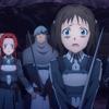 ソードアート・オンライン アリシゼーション War of Underworld 9話 怯えるロニエとティーゼ