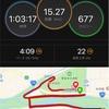 【15kmビルドアップ】走った後のパイナップル激ウマ