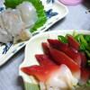 旬のホッキ と セリ☆ ヒラメ に 鶏 に 子供ちらし寿司