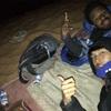 Sleeping in desert is to eat sands..