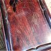 漆で小柄を と 古い硯箱と  (坂根龍我 作品 紹介№357 )