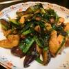 【1食125円】ガンラー痺れる茄子とチャーシューのニラ炒めの自炊レシピ