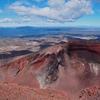 「レッド クレーター(Red Crater)」赤々とした岩肌が不気味な。。。~「トンガリロ アルパイン クロッシング(Tongariro Alpine Crossing)」