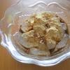 きな粉が余りそうなので簡単お菓子レシピを試してみた!わらび餅風黒蜜きな粉がけ