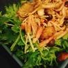 【レシピ】キノコとベーコンのなんちゃってアヒージョサラダ。
