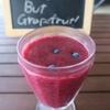 今日のジュース「Berry. But Grapefruits!」