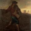 山梨県立美術館 世界に誇るミレーコレクション。「種まく人」は、1850年パリでコレラが大流行した後に描かれた名作。