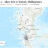 【マニラ地震】4月22日17時22分にフィリピン北部ルソン島でM6.1の地震が発生!立命館大学の高橋学教授が2019年のGW10連休に『南海トラフ巨大地震』が来る可能性を指摘!日本もリング・オブ・ファイア上にあり、他人事ではない!