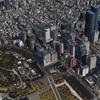 シン・ゴジラと東京駅周辺の質量兵器群