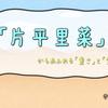 「片平里菜」からあふれる「重さ」と「覚悟」(注:2016年時点)