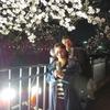 夜桜行ってきました~~!毎年恒例だけど今年は早い!!