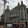 Antwerp(アントワープ)駅から旧市街へ 石のお城と木のエスカレーター