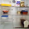 冷蔵庫の拭き掃除