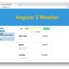 Angular2で作る天気予報チュートリアルver.2