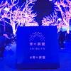 渋谷 Winter illumination 青の洞窟 光溢れる街並みに屋台まであるデートコース
