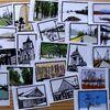 切り絵作品カードを並べて(2)