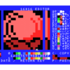 MSX1 PCG SCREEN1.5  お絵かきtool 進捗