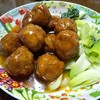 今日の晩飯 肉団子の甘酢あんかけと中華風コーンスープを作ってみた(^_-)-☆