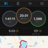 今年の3月以来の30kmペース走は出来たのか?