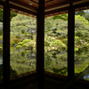 旧竹林院で新緑リフレクションを楽しむ@2019